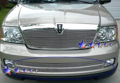 APS - Lincoln Navigator APS Billet Grille - Bumper - Stainless Steel - L85018S