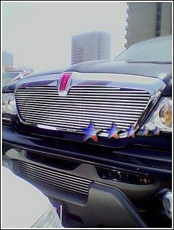 APS - Lincoln Navigator APS Billet Grille - Bumper - Stainless Steel - L85089S