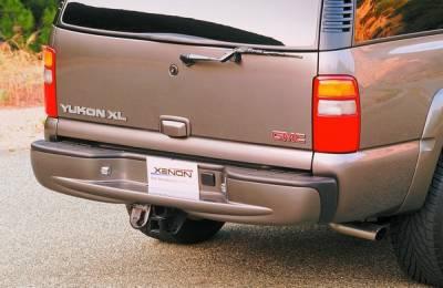 Xenon - Chevrolet Tahoe Xenon Rear Bumper Cover - 4388