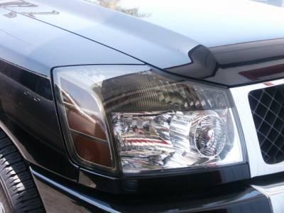 Custom - Smoked Head light Overlays Kit