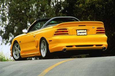 Xenon - Ford Mustang Xenon Rear Valance - 5574
