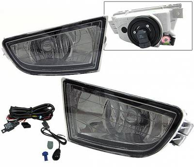 4 Car Option - Acura MDX 4 Car Option Fog Light Kit - Smoke - LHF-AMDXSM