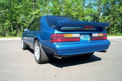 Xenon - Ford Mustang Xenon Urethane OEM Rear Bumper Cover - 12854