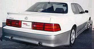Wings West - Lexus LS Wings West Rear Bumper Cover - Fiberglass - 490103