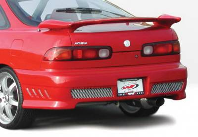 Wings West - Acura Integra 2DR Wings West Avenger Rear Bumper Cover - 890564