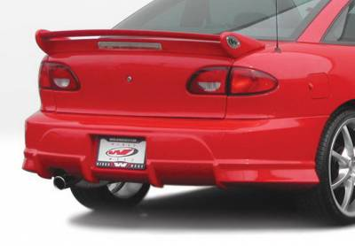 Wings West - Chevrolet Cavalier Wings West Voltex Rear Bumper Cover - 890708