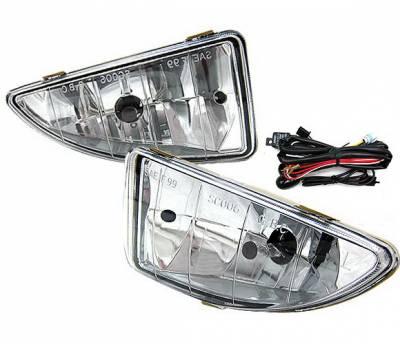 4CarOption - Ford Focus 4CarOption Fog Light Kit - LHF-FF00C
