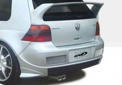 VIS Racing - Volkswagen Golf VIS Racing G-Spec Rear Bumper Cover - 890712