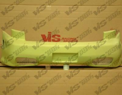 VIS Racing - Chevrolet Cavalier VIS Racing Kombat Rear Bumper - 00CHCAV2DKOM-002