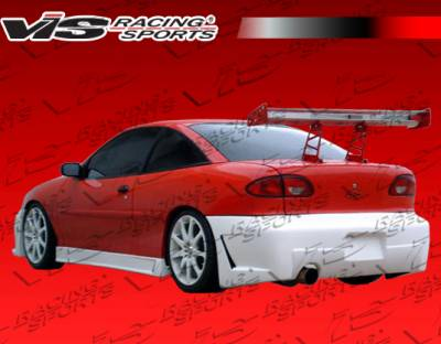VIS Racing - Chevrolet Cavalier VIS Racing TSC-3 Rear Bumper - 00CHCAV2DTSC3-002