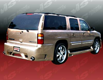 VIS Racing. - Chevrolet Suburban VIS Racing Outcast Rear Bumper - 00CHSUB4DOC-002