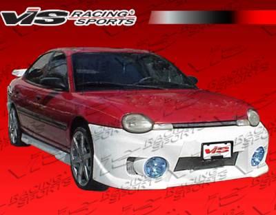 VIS Racing. - Dodge Neon 4DR VIS Racing EVO-5 Rear Bumper - 00DGNEO4DEVO5-002