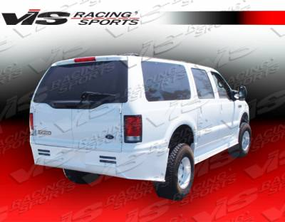 VIS Racing - Ford Excursion VIS Racing Outlaw Rear Bumper - 00FDEXC4DOL-002