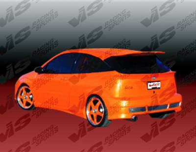 VIS Racing. - Ford Focus VIS Racing AVG Rear Bumper - 00FDFOC2DAVG-002