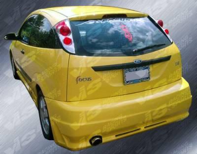 VIS Racing - Ford Focus VIS Racing Octane Rear Bumper - 00FDFOC2DOCT-002