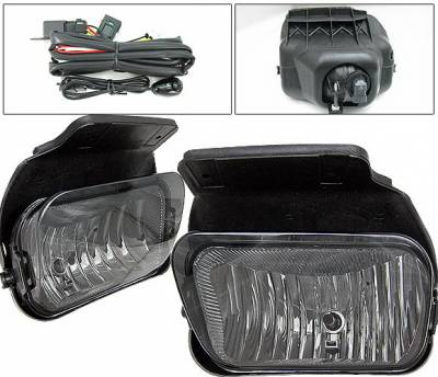 4 Car Option - GMC Sierra 4 Car Option Fog Light Kit - Smoke - LHF-GSI05SM