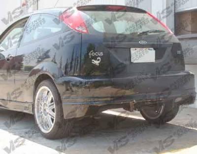 VIS Racing - Ford Focus VIS Racing Quest Rear Bumper - 00FDFOC2DQST-002
