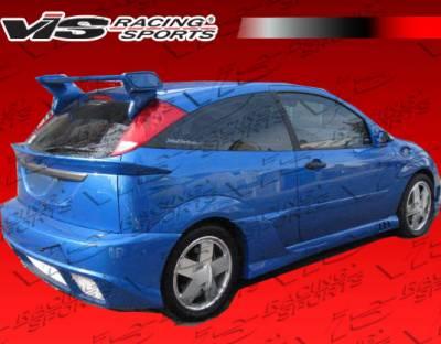VIS Racing - Ford Focus VIS Racing Stalker-2 Rear Bumper - 00FDFOC2DSTK2-002