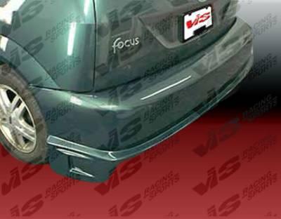 VIS Racing - Ford Focus VIS Racing Striker Rear Bumper - 00FDFOC2DSTR-002
