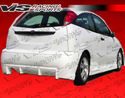 VIS Racing - Ford Focus VIS Racing TSC Rear Bumper - 00FDFOC2DTSC-002
