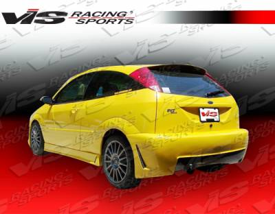 VIS Racing - Ford Focus VIS Racing TSC-3 Rear Bumper - 00FDFOC2DTSC3-002