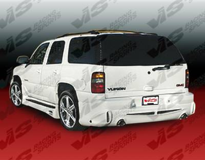 VIS Racing - GMC Yukon VIS Racing Outcast Rear Bumper - 00GMYUK4DOC-002