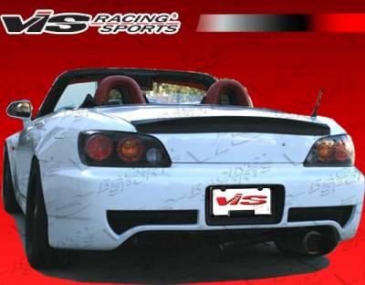 VIS Racing - Honda S2000 VIS Racing ASM Rear Bumper - 00HDS2K2DASM-002