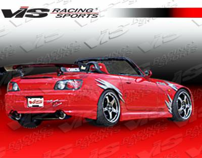 VIS Racing - Honda S2000 VIS Racing G-Speed Type 1 Rear Bumper - 00HDS2K2DGSP1-002