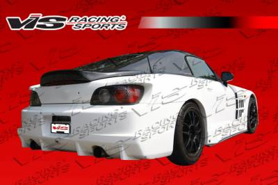 VIS Racing. - Honda S2000 VIS Racing Z Speed Widebody Rear Bumper - 00HDS2K2DZSPWB-002