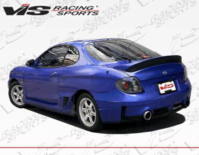 VIS Racing - Hyundai Tiburon VIS Racing Rally Rear Bumper - 00HYTIB2DRAL-002