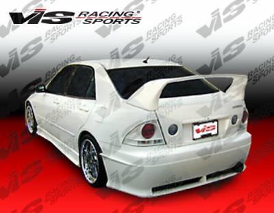 VIS Racing - Lexus IS VIS Racing Cyber-2 Rear Bumper - 00LXIS34DCY2-002