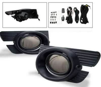 4CarOption - Honda Accord 4DR 4CarOption Fog Light Kit - LHF-HA01-SM