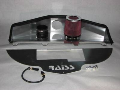 Raiss - Chevrolet Impala Raiss Ram Air Intake System - Jet Hot Sterling Silver