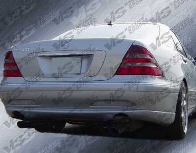 VIS Racing - Mercedes-Benz S Class VIS Racing Laser Rear Bumper - 00MEW2204DLS-002