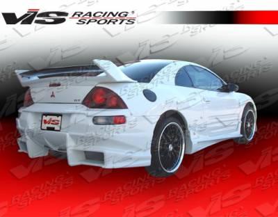 VIS Racing - Mitsubishi Eclipse VIS Racing Ballistix Rear Bumper - 00MTECL2DBX-002