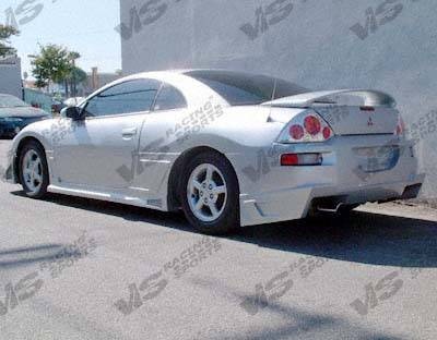 VIS Racing - Mitsubishi Eclipse VIS Racing Battle Z Rear Bumper - 00MTECL2DBZ-002