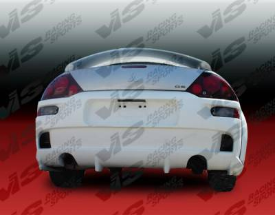 VIS Racing - Mitsubishi Eclipse VIS Racing Invader-2 Rear Bumper - 00MTECL2DINV2-002