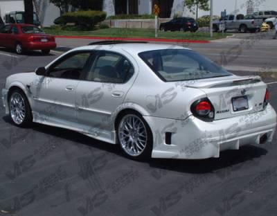 VIS Racing - Nissan Maxima VIS Racing Kombat Rear Bumper - 00NSMAX4DKOM-002