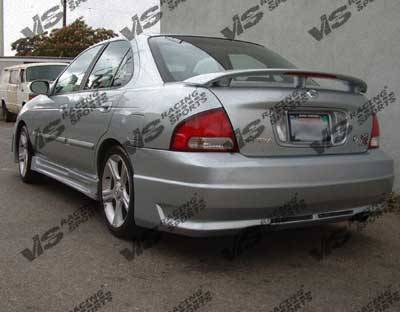 VIS Racing - Nissan Sentra VIS Racing Octane Rear Bumper - 00NSSEN4DOCT-002
