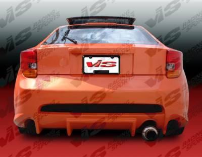 VIS Racing - Toyota Celica VIS Racing Invader Rear Bumper - 00TYCEL2DINV-002