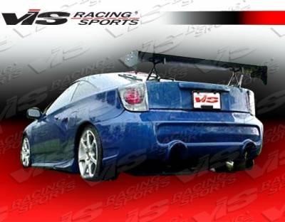 VIS Racing - Toyota Celica VIS Racing Invader-6 Rear Bumper - 00TYCEL2DINV6-002