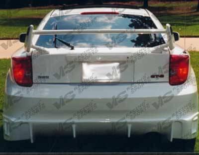 VIS Racing - Toyota Celica VIS Racing TSC Rear Bumper - 00TYCEL2DTSC-002