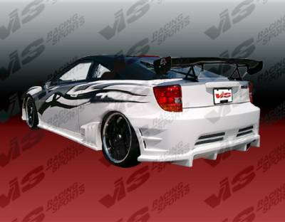 VIS Racing - Toyota Celica VIS Racing Wave Rear Bumper - 00TYCEL2DWAV-002