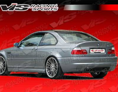 VIS Racing. - BMW 3 Series 2DR VIS Racing CSL Rear Lip - 01BME46M32DCSL-012
