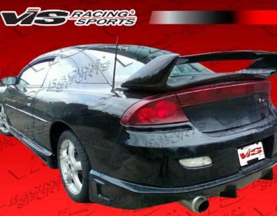 VIS Racing - Dodge Stratus 2DR VIS Racing Invader Rear Bumper - 01DGSTR2DINV-002