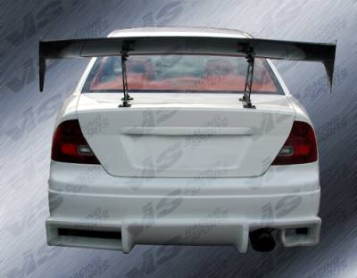 VIS Racing - Honda Civic 2DR VIS Racing Ballistix Rear Bumper - 01HDCVC2DBX-002