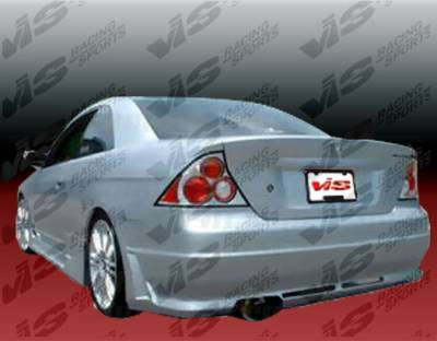 VIS Racing - Honda Civic 2DR VIS Racing Octane Rear Bumper - 01HDCVC2DOCT-002