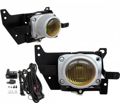 4CarOption - Honda Civic 2DR 4CarOption Fog Light Kit - LHF-HC923-ION