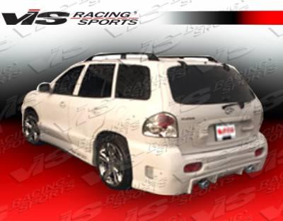 VIS Racing - Hyundai Santa Fe VIS Racing Outcast Rear Bumper - 01HYSAN4DOC-002