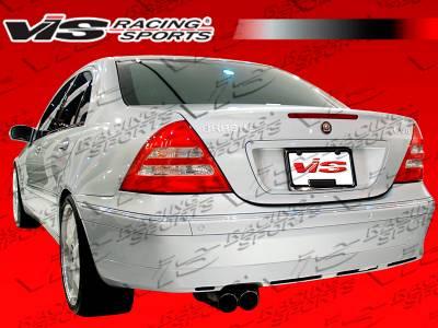 VIS Racing - Mercedes-Benz C Class VIS Racing B-Spec Rear Bumper - 01MEW2034DBSC-002